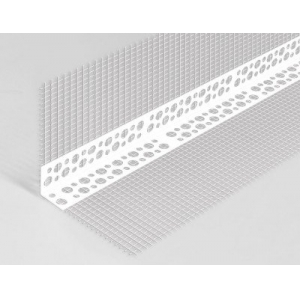 Уголок ПВХ с сеткой, 3,0 м, РБ.