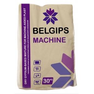 Штукатурка гипсовая BELGIPS MACHINE, белая, 30кг