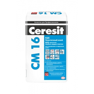 Клей для крупноформатной плитки Ceresit СМ 16 Флекс, 25кг