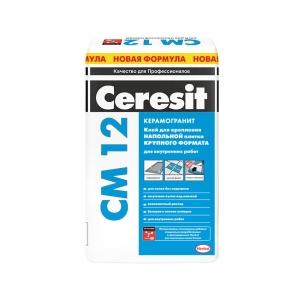 Клей для керамогранита Ceresit CM 12 Грес, 25кг