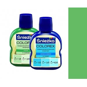 Краситель Sniezka Colorex №42 весенне-зелёный, 10мл