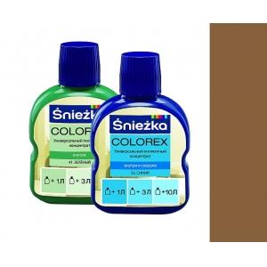 Краситель Sniezka Colorex №75 тёмно-коричневый, 10мл