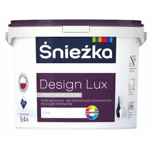 Краска латексная водно-дисперсионная полиакриловая Sniezka Design Lux, 0,94л