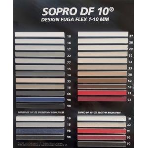 Фуга эластичная Sopro DF10 1054-14 бетонно-серая, 5кг