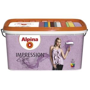Краска структурная Alpina Impression Effekt, 5л