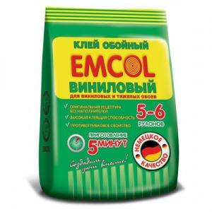 Клей обойный EMCOL виниловый, 0,5кг