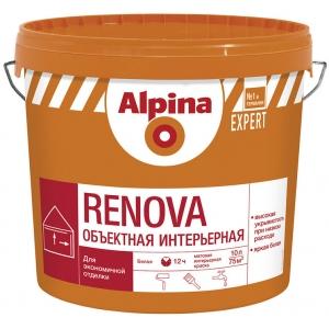 Краска Alpina EXPERT Renova, белая, 15л
