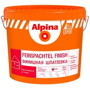 Шпатлевка акриловая Alpina EXPERT Feinspachtel Finish, 15кг