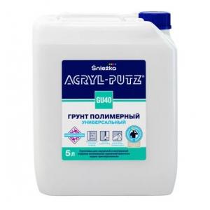 Грунт полимерный универсальный Sniezka Acryl-Putz GU40, 1л