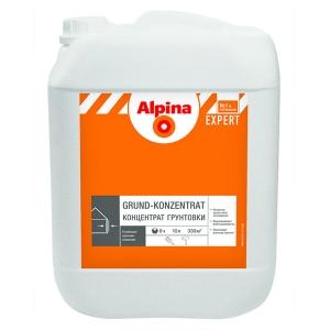 Концентрат грунтовки глубокого проникновения Alpina EXPERT Grund-Konzentrat, 2,5л