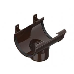Воронка сливная, коричневый INES