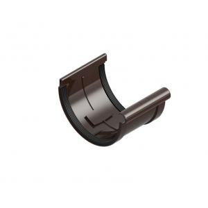 Муфта желоба, коричневый INES