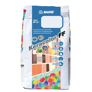 Фуга MAPEI Keracolor FF 111 Светло-серый, 5кг
