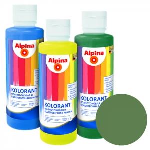 Краситель Alpina Kolorant Farngruen (папоротниково-зелёный), 0,5 л