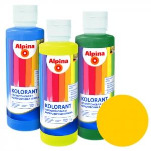 Краситель Alpina Kolorant Gelb (жёлтый), 0,5 л