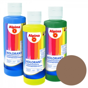 Краситель Alpina Kolorant Marone (каштановый), 0,5 л