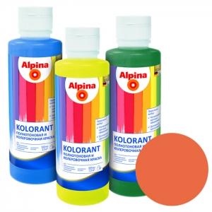 Краситель Alpina Kolorant Orange (оранжевый), 0,5 л