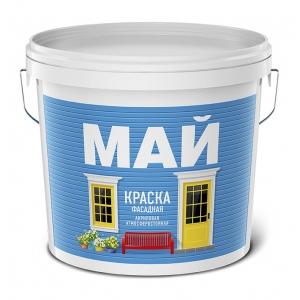 Краска для фасадов акриловая МАЙ, 13кг