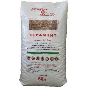 Керамзит фракция 10/16 мм, 20 кг