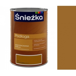 Эмаль для деревянных полов Sniezka Podloga, орех светлый, 2,5л