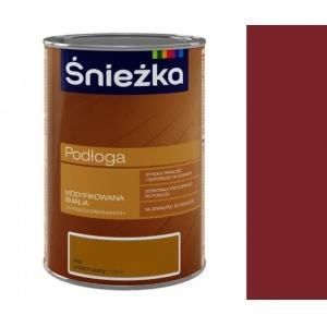 Эмаль для деревянных полов Sniezka Podloga, орех средний, 1л