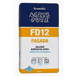 Шпатлевка малярная Sniezka Acryl-Putz FD12 Fasad, 5кг