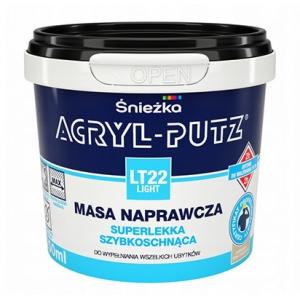 Ремонтная масса быстровысыхающая Sniezka Acryl-Putz LT22 Light, 0,25л