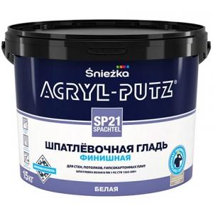 Шпатлевочная гладь Sniezka Acryl-Putz SP21 SPACHTEL, 4кг