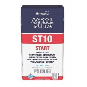 Шпатлевка гипсовая Sniezka Acryl-Putz ST10 Start, 20кг