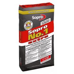Клей для плитки высокоэластичный Sopro № 1 (400) экстра, 22,5 кг