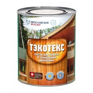 Пропитка для защиты и тонирования ТЭКОТЕКС, махагон, 2,1кг