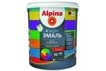Эмаль акриловая Alpina Аква эмаль, глянцевая, База 1, 2,5л