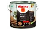 Лак мебельный Alpina Aqua M?bel, глянцевый, 0,75л