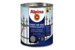 Эмаль алкидная Alpina Direkt auf Rost Hammerschlageffekt, Коричневый, 0,75л