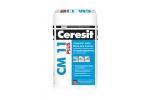 Клей для плитки усиленной фиксации Ceresit СМ 11 «Керамика и грес», 5кг