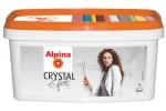Краска-лазурь акриловая Alpina Effekt Crystal Silber, серебро, 1л