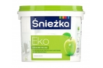 Краска акриловая гипоаллергенная Sniezka Eco снежно-белая, 15л