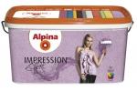 Краска структурная Alpina Impression Effekt, 10л