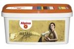 Краска декоративная Alpina Metall Effekt Gold, 1л