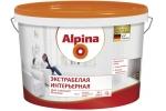 Краска Alpina Экстрабелая интерьерная, белая, 2,5л