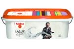 Краска акриловая Alpina Effekt Lasur Silber, серебро, 2,5л