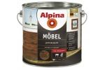 Лак мебельный Alpina M?bel, глянцевый, 2,5л