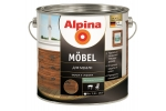 Лак мебельный Alpina M?bel, шелковисто-матовый, 0,75л