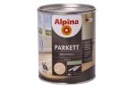 Лак для паркета Alpina Parkett, шелковисто-матовый, 10л