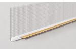 Профиль оконный примыкающий, с сеткой, 6мм*2,4м (ПрофиГипс)