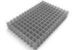 Сетка сварная облегченная 100х100х3 мм, карта 2х1м