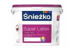 Краска полиакриловая матовая водно-дисперсионная Sniezka Super Latex, 9,4л