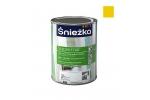 Масляно-фталевая эмаль Sniezka Supermal глянцевая желтая, 0,8л