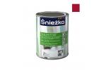 Масляно-фталевая эмаль Sniezka Supermal глянцевая красная, 0,8л