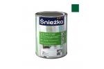 Масляно-фталевая эмаль Sniezka Supermal глянцевая зеленая мятная, 0,8л